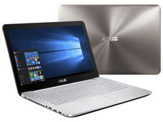 Ноутбук ASUS N552VW-FY252T 90NB0AN1-M03140 (Intel Core i5 6300HQ 2.3GHz/12288Mb/2000Gb + 128Gb SSD/DVD-RW/nVidia GeForce GTX 960M 2048Mb/Wi-Fi/Bluetooth/Cam/15.6/1920x1080/Windows 10 64-bit)