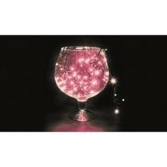 Гирлянда neon-night твинкл 10м, черный пвх, 100 led розовые 303-152