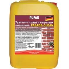 Удалитель солей и нитратных выделений на фасадах пуфас 10л тов-132102