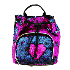Рюкзак LADY PINK Розовые пайетки
