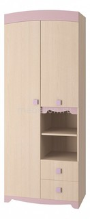 Шкаф платяной Пинк 8 ИД 01.140а Интеди
