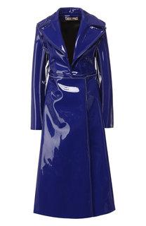 Однотонное пальто с отложным воротником Marni