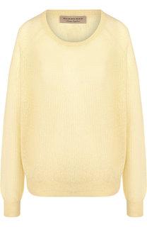 Вязаный пуловер с круглым вырезом Burberry