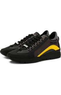 Комбинированные кроссовки 551 на шнуровке Dsquared2