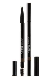Моделирующий карандаш для бровей 3-в-1 InkTrio, 04 Ebony Shiseido