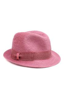 Фетровая шляпа трилби Borsalino