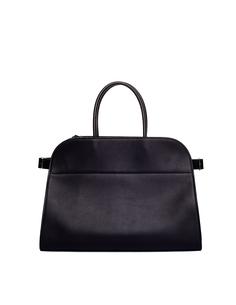 Черная кожаная сумка Margaux 15 The Row