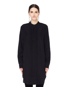 Черная шелковая блузка Decoration A.F.Vandevorst