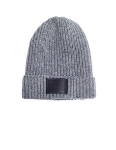 Серая шерстяная шапка Ys