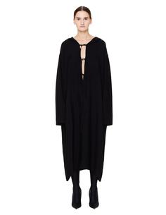 Черное платье из тенсела Ys