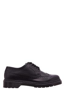 Черные полуботинки 3989 Smooth Dr Martens