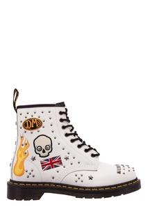 Кожаные ботинки 1460 Rock & Roll Dr Martens