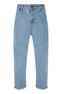 Укороченные голубые джинсы D.O.T.127