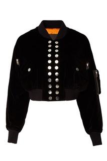 Черная хлопковая куртка Alexander Wang