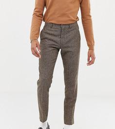 Светло-коричневые облегающие брюки Heart & Dagger - Коричневый