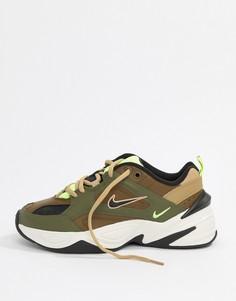 Кроссовки Nike Khaki M2K Tekno - Зеленый