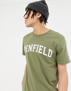 Зеленая футболка с логотипом Penfield Collegiate - Зеленый