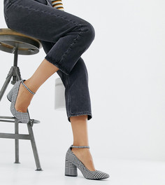 Туфли для широкой стопы на каблуке ASOS DESIGN - Мульти