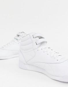 Белые высокие кроссовки Reebok - Белый