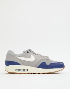 Серые кроссовки Nike Air Max 1 AH8145-008 - Серый