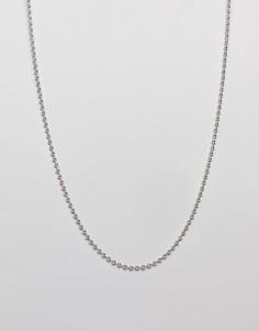 Серебристое ожерелье-цепочка WFTW - Серебряный