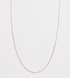 Золотистое ожерелье DesignB эксклюзивно для ASOS - Золотой
