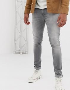 Серые джинсы скинни Nudie Jeans Co - Серый