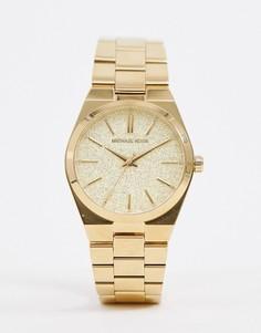 Золотистые часы-браслет 36 мм Michael Kors MK6623 - Золотой