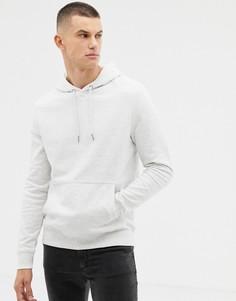 Худи светло-серого цвета с карманом New Look - Серый