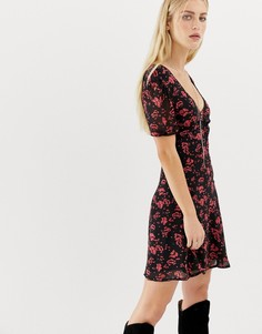 Чайное платье AllSaints Lucia - Мульти