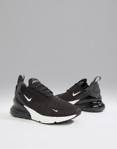 Черно-белые кроссовки Nike Air Max 270 - Черный