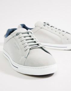 Белые фактурные кроссовки Ted Baker Eeril - Белый