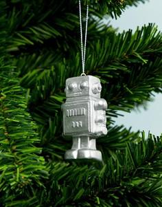 Новогоднее елочное украшение в виде робота Typo - Мульти