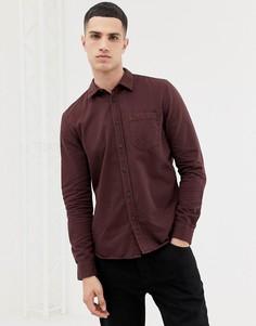Фиолетовая рубашка на пуговицах Nudie Jeans Co Henry - Фиолетовый