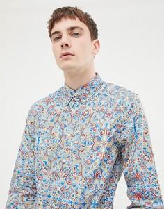 Рубашка с принтом Pretty Green x The Beatles - Мульти