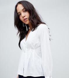 Блузка с завязками на рукавах Vero Moda Tall - Белый