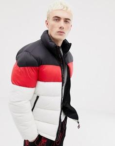 Белая дутая куртка Pull&Bear - Белый Pull&;Bear