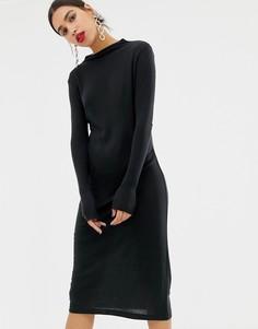 Трикотажное платье миди Vero Moda Aware - Черный