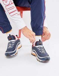 Темно-синие кроссовки Nike Air Max 97 - Темно-синий