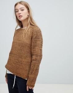 Вязаный свитер Carhartt WIP - Коричневый