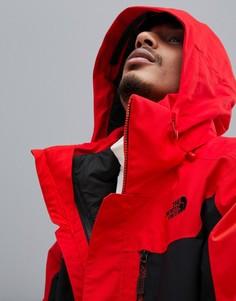Красная куртка The North Face Clement Triclimate - Красный