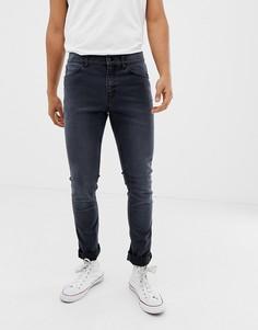 Темно-серые джинсы скинни Cheap Monday - Синий