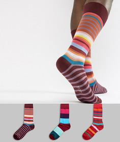 3 пары носков в полоску Paul Smith - Мульти