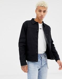 Levis Line 8 denim jacket black - Черный