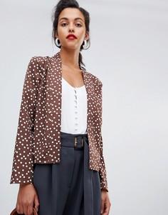 Блузка с принтом ASOS DESIGN - Мульти