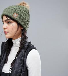Зеленая шапка-бини Roxy Blizzard - Зеленый