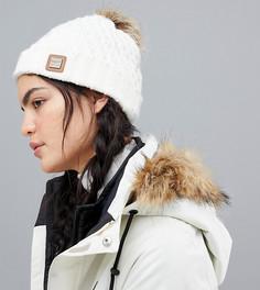 Белая шапка-бини Roxy Blizzard - Белый
