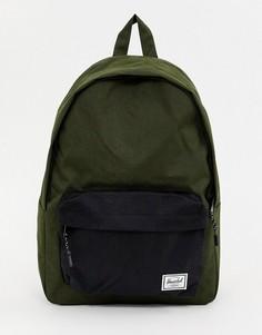 Рюкзак хаки Herschel Supply Co Classic 24 л - Зеленый