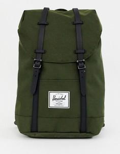 Рюкзак хаки Herschel Supply Co Retreat 19,5 л - Зеленый