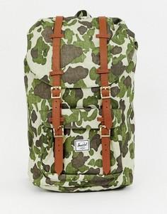 Рюкзак с абстрактным камуфляжным принтом Herschel Supply Co Little America 25 литров - Мульти